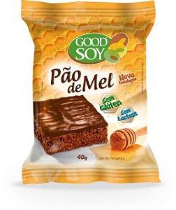 PAO DE MEL GOODSOY 40G - DP 1 / 10 UN