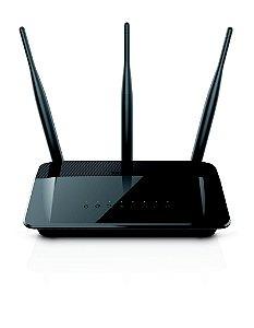 Roteador Wireless D-Link DIR-809 AC 750Mbps Dual Band 3 Antenas