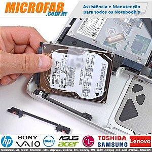 HD para Notebook, Recuperação\Manutenção e Comercialização