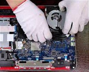 Limpeza Física Em Notebook interna e externa, Limpeza Lógica (Formatação, Backup e Instalação)
