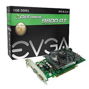 Gpu 9800gt 1gb Ddr3 256bits 1400mhz Pci-e Evga 01g-p3-n988-l1