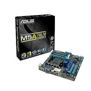 Placa Mãe Asus M5a78l-m/usb3 Amd Am3+ 90-mibg70-g0eay00z