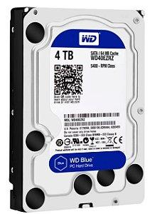 Disco Rígido Western Digital 4TB Blue SATA - WD40EZRZ
