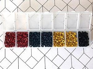 Kit ilhós cores - 700 peças