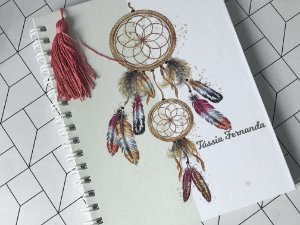 Caderno organizador de tarefas