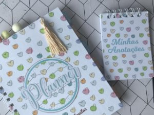 Planner semanal - Capa Personalizável