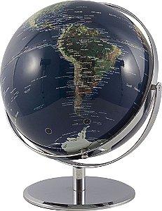Globo Real com Base Circular e Dupla Rotação - Fullway