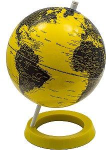 Globo Polido Amarelo e Preto - Fullway