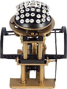 Miniatura Maquina de Escrever Vintage - Oldway