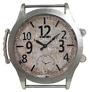 Relógio de Parede Estilo Pulso em Metal - Oldway