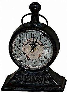 Relógio de Mesa Samuel Vernon 1789 em Metal - Oldway