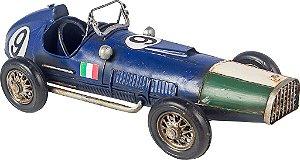 Miniatura Carro de Corrida Ferrari Italia Azul - Oldway