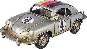 Miniatura Carro Alemanha Porsche Prata - Oldway