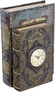 BOOK BOX DUPLO C/ RELÓGIO OLDWAY -  REF: 117.042