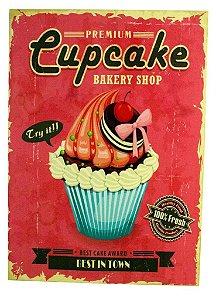 TELA IMPRESSA CUP CAKE ROSA FULLWAY -  REF: 108.360