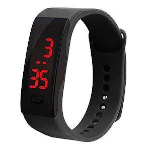 Relógio Unissex LED Bracelet Watch Esporte em Gel de Sílica Ambiental - 4 Cores