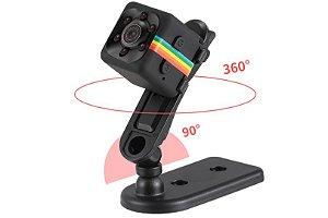 Mini Câmera com resolução WI-FI SQ13 SQ23 SQ11 SQ12 FULL HD 1080 Visão Noturna CMOS impermeável shell