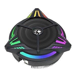 COOLER GAMER UNIVERSAL INTEL E AMD ALUMINIO COM LED RGB  (BCG-07UARGB)  - BLUECASE