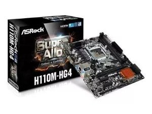 PLACA MAE ASROCK INTEL 1151 DDR4 MICRO ATX  (H110M-HG4-90-MXB3B0-A0BAYZ)