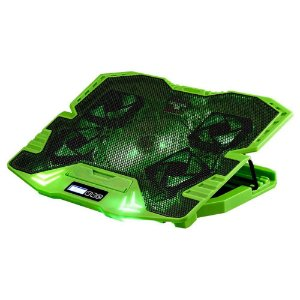 BASE GAMER WARRIOR ZELDA COOLER COM LED VERDE AC292