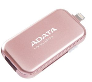 PEN DRIVE ADATA FOR IPHONE, IPAD AND IPOD 32GB ROSE GOLD (AUE710-32G-CRG-11750014)