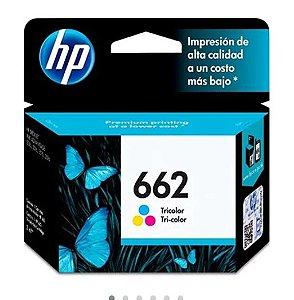 CARTUCHO HP 662 COLORIDO ORIGINAL