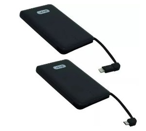 BATERIA PORTATIL 10000 KP-PB03 POWER BANK KNUP