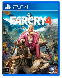 JOGO UBISOFT FAR CRY 4 PS4 BLU-RAY  (UB000005PS4)