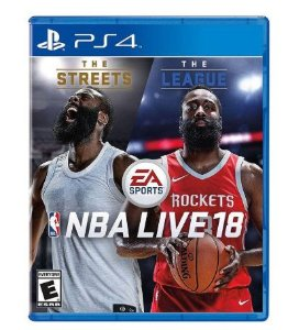 JOGO ELECTRONIC ARTS NBA LIVE 2018 PS4 BLU-RAY  (EA3038AN)