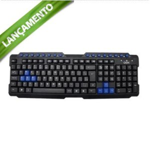 TECLADO GAMER OEX TC200 ACTION AZUL