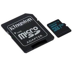 CARTAO DE MEMORIA CANVAS GO KINGSTON SDCG2 32GB