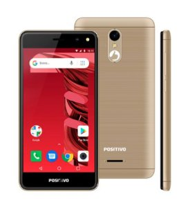 SMARTPHONE POSITIVO S509C 32GB DOURADO