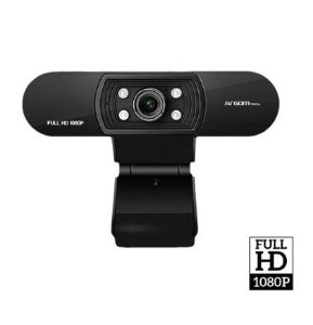 WEBCAM CAM50 FULL HD 1080P USB PRETA ARGOM