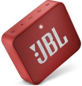CAIXA BT JBL GO2 RED IPX7 2