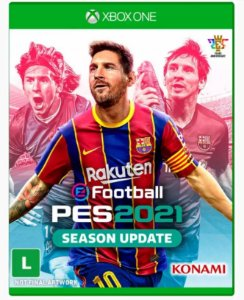 PRÉ-VENDA Game EFootball PES 2021 - Xbox One