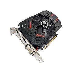 GPU RADEON RX 550 4GB GDDR5 128BITS BLUECASE - DVI / DP / HDMI - BOX