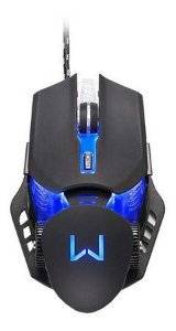 MOUSE GAMER WARRIOR KEON 3200 DPI PRETO- MO267