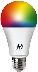 LAMPADA BLBO LED WI-FI 10W C/ DIMMER E MDANCA DE COR MLTILAS