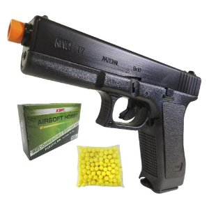Pistola Airsoft Spring (K17) 6mm- Kwc