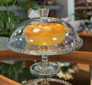Boleira|prato de bolo de vidro