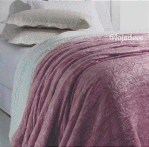 Cobertor Soft Flannel Vermont Sherpa