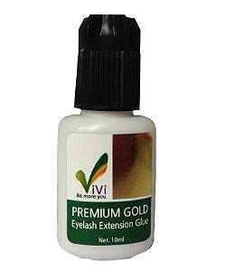 Cola para Alongamento De Cilios Fio a Fio - Vivi Premium Gold 10g