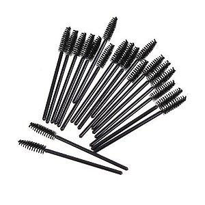 Escovinha para pentear Cílios e sobrancelhas c/15 unid