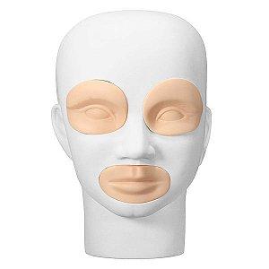 Kit Refil Cabeça de Boneca para Treino Micropigmentação