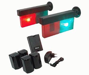Kit Semáforo Automático para entrada e saída de veiculos