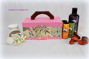 Porta Óleo Essencial - Flores