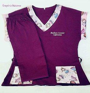 Personalize seu Pijama Cirúrgico