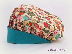 Toucas personalizada Corujas - SEM bordado - Confecção 3 dias úteis