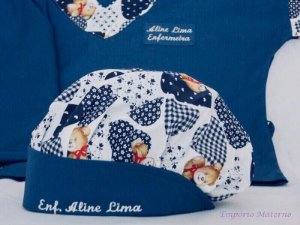 Toucas personalizada Ursos - Com bordado - Confecção 3 dias úteis
