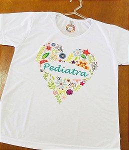 Baby Look personalizada - Coração Pediatra